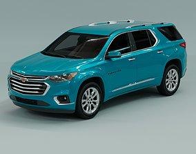 3D model Chevrolet Traverse 2022