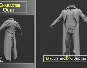 Character Outfit - Marvelous Designer Project 3D