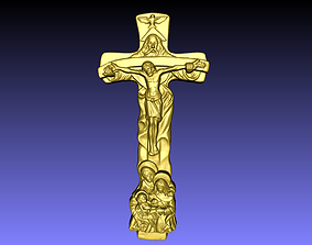house 3D print model cross