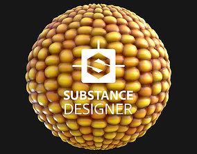 Corn - Procedural Material 3D model