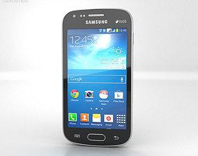 3D Samsung Galaxy S Duos 2 Black