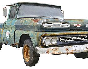 3D model Classic Car Wreck