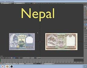 Nepal - paper - money models