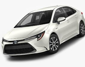 3D Toyota Corolla Sedan US hybrid 2020