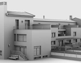 3D model Urbanization