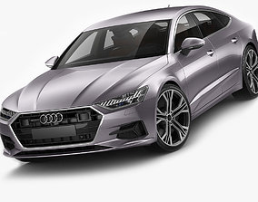 Audi A7 Sportback 2018 3D model