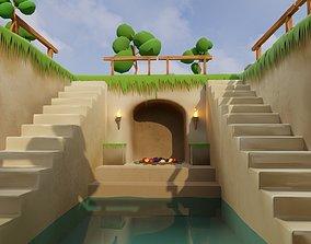 3D model Primitive Temple by SerdaroS