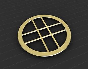 3D printable model Cross Medallion cross medallion