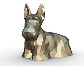 3D printable model Scottish Terrier figure