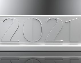 2021 Sign 3D print Ready Water Tight Solid