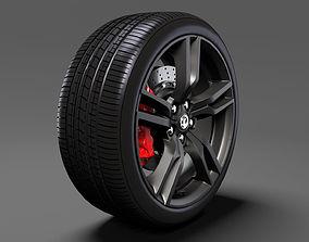 3D model Vauxhall VXR8 wheel 2017
