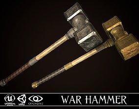 War Hammer 01 3D model