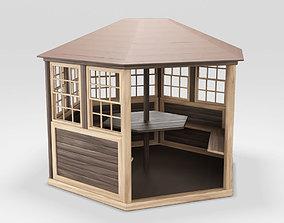 Arbor Wood 3D model
