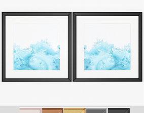 Art Frams 103- Teal Marble 1 3D