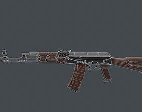 3D asset AK-74