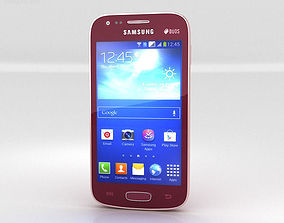 3D Samsung Galaxy Ace 3 Red