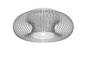 3D Morosini Spring PL 55 Ceiling light