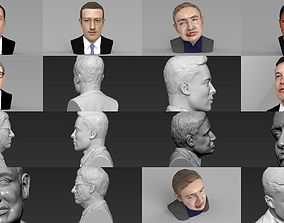 Most Influential People ready for full color 3D
