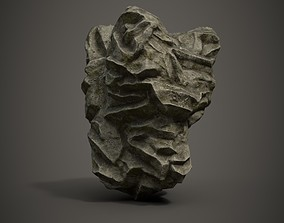 Rock Formation 2 3D asset