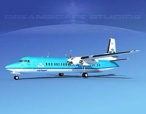 Fokker F-60 KLM Cityhopper 1 3D