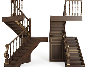 classical stairs 3D step