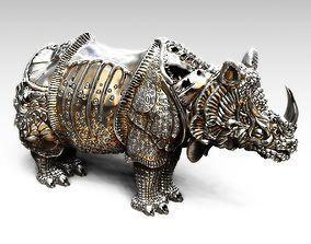 Rhinoceros Durer 3D print model