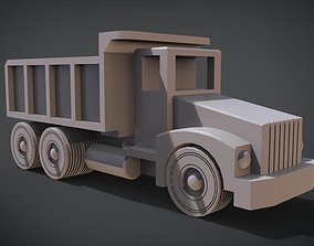 3D printable model Construction Grade Toy Dump Truck