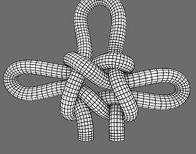 3D model strap knot