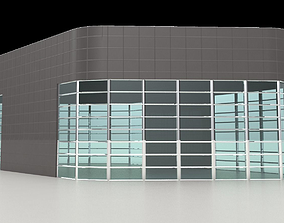 3D Architectural stand alone structure with storefront