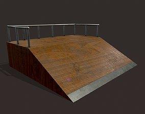 3D asset Skate ramp7