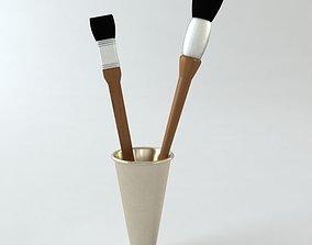 3D model Artists brushes
