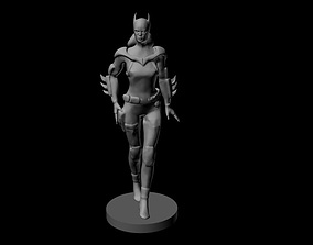 3D printable model batgirl
