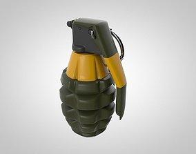 3D asset Hand Granade
