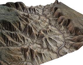 3D model 75km x 75km Grand Canyon Landscape