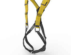 3D model Safety Harness