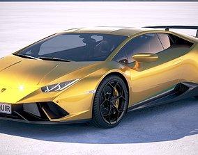 3D model Lamborghini Huracan Performante 2018