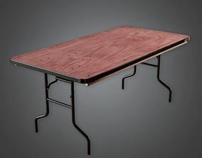 3D model Announcer Table Gym - HSG - PBR Game Ready