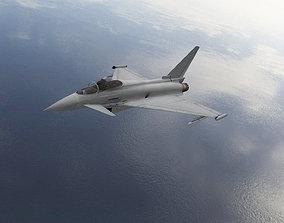 3D asset Eurofighter F2 Typhoon