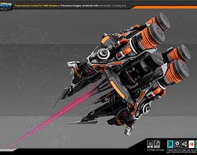 EXPLORER Terraformer Platform EX4 3D model realtime