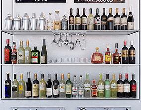 3D asset Bottles