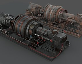 3D PBR Machinery device