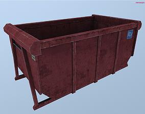3D model Dumpster skip