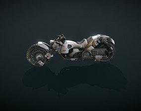 3D power Futuristic Motorcycle Volume 1