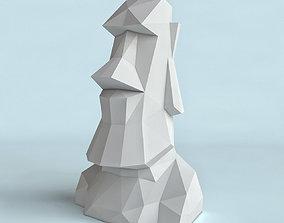 Moai Poly 3D print model