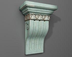 Corbel carving 3D print model