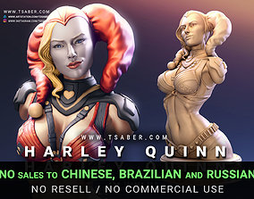 Harley Quinn Bust - 3D print Collectibles