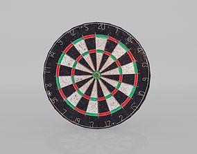 Dart Board 3D model low-poly