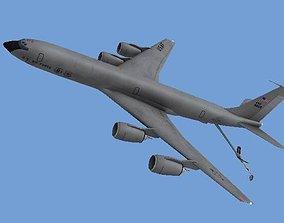 KC-135 3D asset