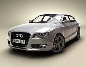 auto 3d model of Audi A5