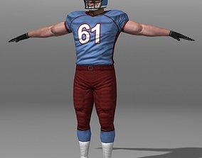 3D model Football Player